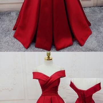Gorgeous Red Prom Dress,Stain prom ..