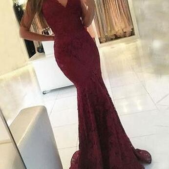 Mermaid Prom Dresses,Long Prom Dres..