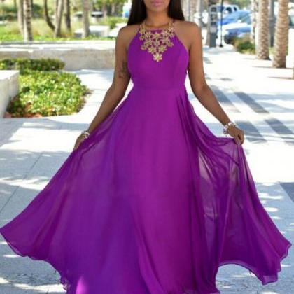 Halter Prom Dress,Cheap Prom Dress,..