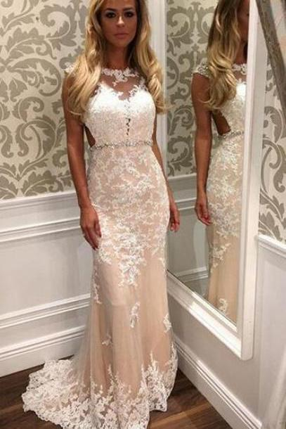 Mermaid Cheap Prom Dress, Lace Prom Dress,Long Prom Dress , Affordable Prom Dress, Junior Prom Dress, Formal Evening Dresses Gowns, Party Dresses, Plus size