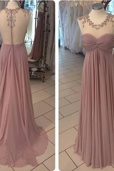 Simple Bridesmaid Dress,Chiffon Prom Dress,Long Bridesmaid Dress,Cheap Graduation Dress,Chiffon Formal Party Dress