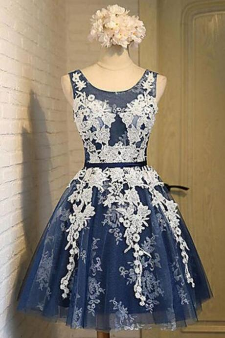 Lace Short Homecoming Dresses,2018 Prom Dress,Cheap Homecoming Dress,Lace Prom Dress, Sexy Prom Dresses Short
