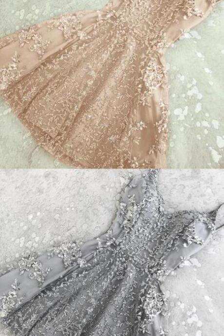 Beauty Champagne Homecoming Dresses,Sexy Short Prom Dresses,Short Homecoming Dresses ,Cheap Homecoming Dress,Homecoming Dress 2018
