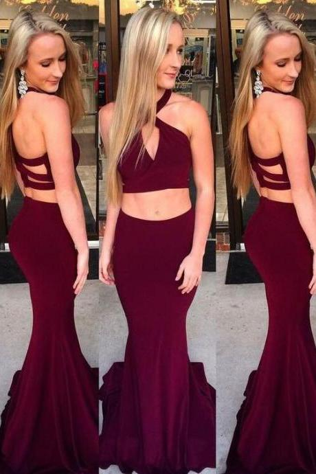 Elegant key-hole evening gowns,Simple Prom Dress,Sexy Prom Dress,Cheap Prom Dress,Chiffon Prom Dress, fashion party dresses