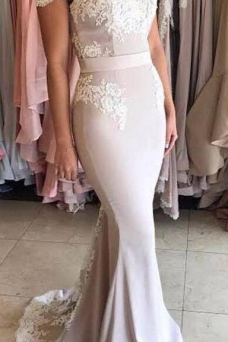 Off the Shoulder Prom Dress,Sexy Prom Dress,Long Prom Dress, Lace Mermaid Prom Dresses, Elegant Prom Evening Dress, Long Party Gowns