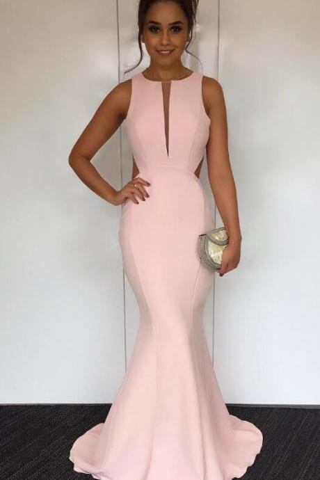 Long Formal Gowns for Women,Open Back Prom Dresses,Simple Prom Dress,Long Satin Mermaid Prom Dresses,Long Sexy Women Formal Gowns,Long Party Dress
