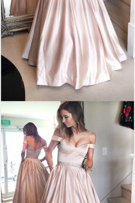 Long Party Dress,Cheap Prom Dress,Simple Prom Dresses, Off the Shoulder Prom Dresses,Prom Dress 2018, Pageant Dresses, Graduation Dresses, Senior Prom Dress